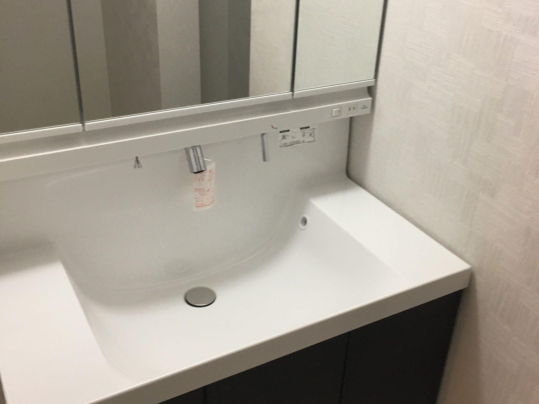 西成区リフォーム事例洗面所